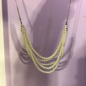 j crew twisted pearl necklace